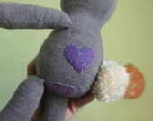 Personalized heart embellishment, a sweet addition to your toy