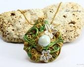 Lothlorien necklace