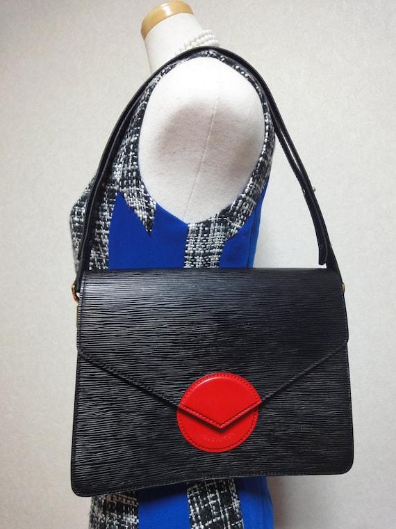 Vintage Louis Vuitton Rare Epi Mod Purse With Red By Endappi
