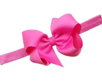 You pick color baby headband - bow headband - baby headband, newborn headband, baby girl headband, bow headband, baby bow headband