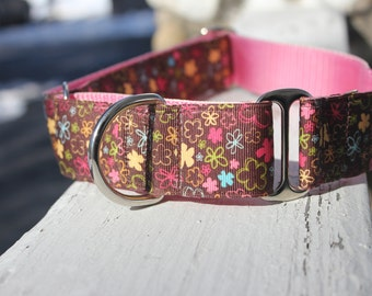 """The Laverne 1.5"""" Martingale Collar"""