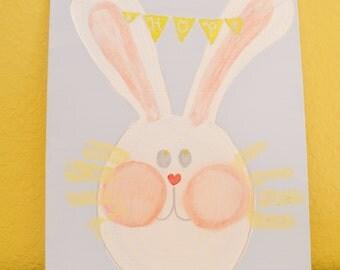 Bunny Rabbit Whiskers Fingerprints Kit 8x10
