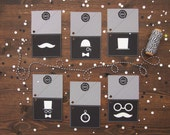 FOR IDA - Set of 8 Manly Tags