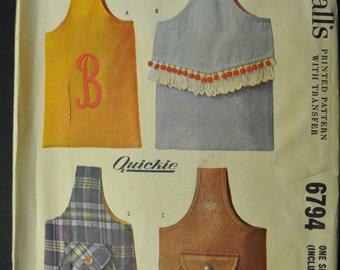 Sling Handbag Vintage 1960s Sewing Pattern McCall's 6794