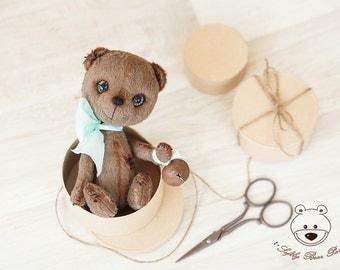 Teddy Bear Pattern - Mohair Teddy bear PDF sewing pattern - Mishka 22cm ePattern PDF - Artist Teddy bear