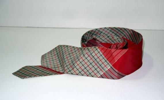 vintage 50er jahre 60er jahre binden krawatte d nne schmale. Black Bedroom Furniture Sets. Home Design Ideas