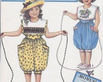 Childs Romper Pattern - Simplicity Pattern No. 8456 - Daisy Kingdom