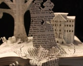 RESERVED Pride and Prejudice Book Sculpture