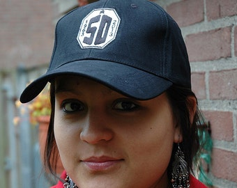 SALE 40% OFF - Inspired Dr Who : 50 years Celebration Baseball Cap