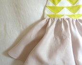 Reserved Custom Order: Children's Patchwork Quilt Dress in Custom Colors
