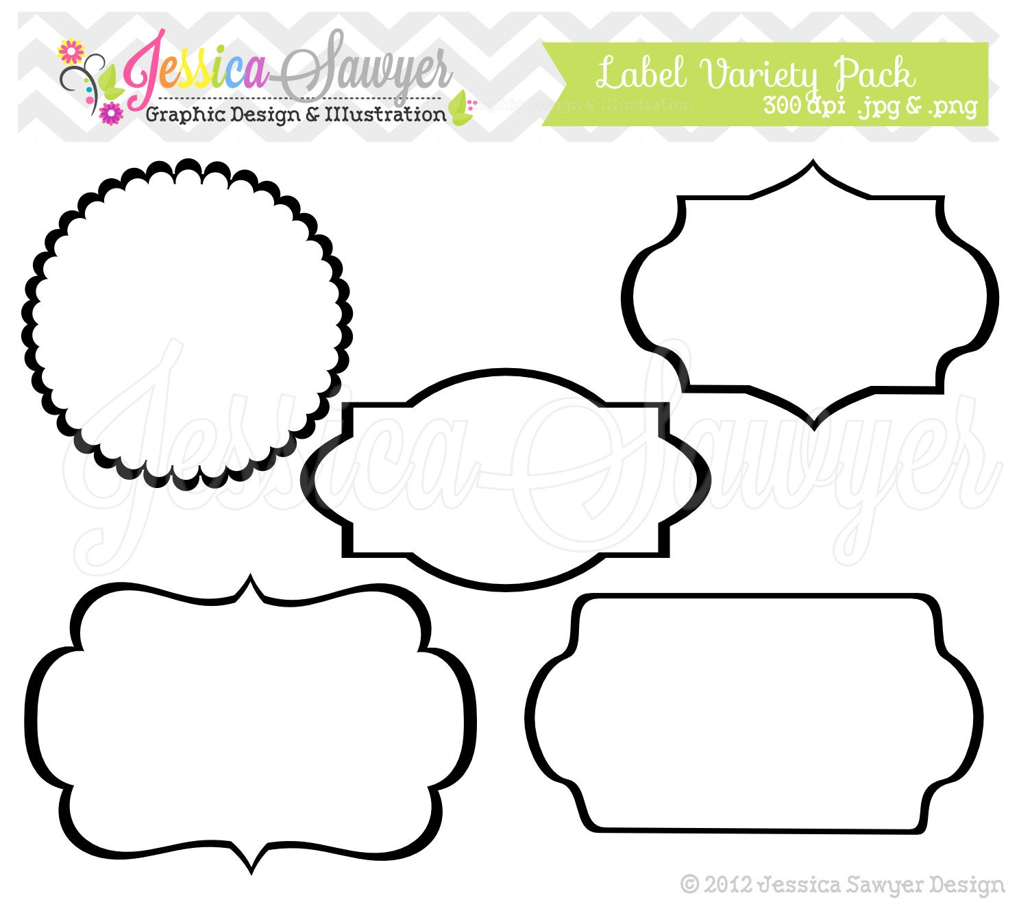 label frame template - photo #16