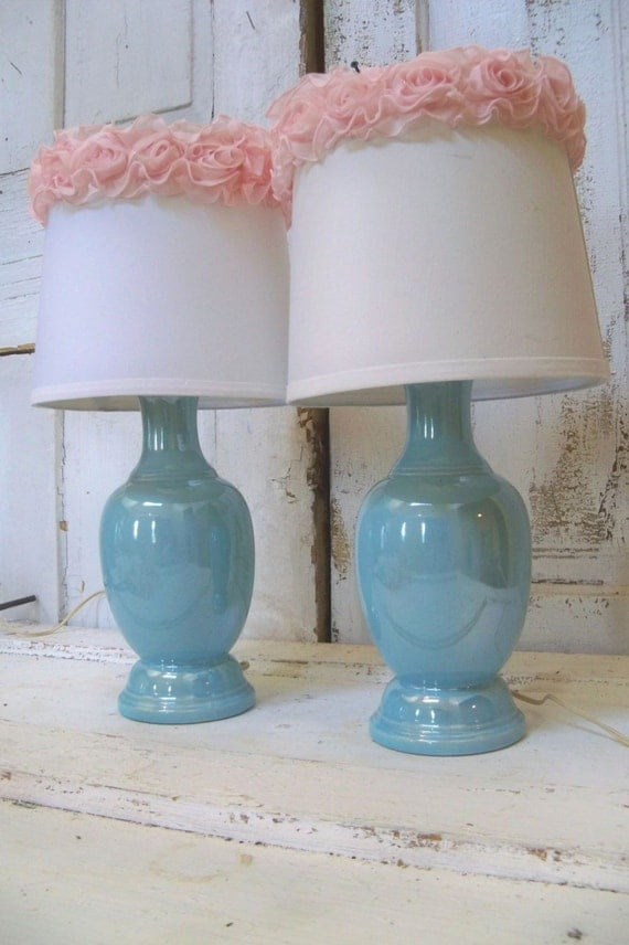 Home Decor Lighting Table Lamps With Shades By Anitasperodesign