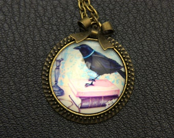 Raven Necklace, 2525C