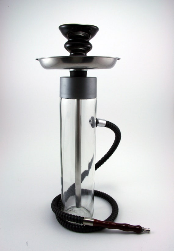 The Smoking Tower Hookah Shisha Glass Bottle By Thehookaholic