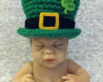 Baby St. Patrick's Day Leprechaun Hat