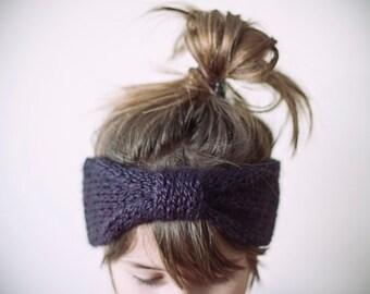 turban, CHOOSE ONE COLOR, alpaca and acrylic knitted headband