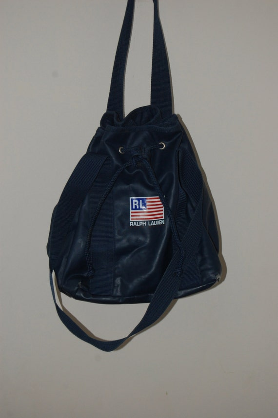 Vintage RALPH LAUREN / Polo Sport backpack by ...