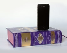 Little Women by Louisa May Alcott iPhone Book Dock iPhone 4, iPhone 4S Leather Bound Classic iPhone Charging Dock