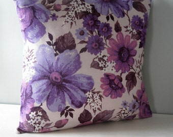 Vintage 50s 60s retro Cushion / Pillow cover