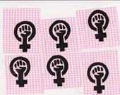 Feminism symbol patch