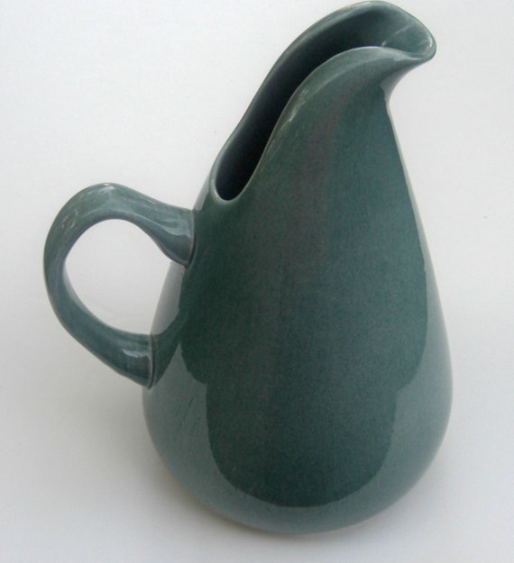 Russel wright american modern water pitcher by mariewarrenarts - Russel wright pitcher ...