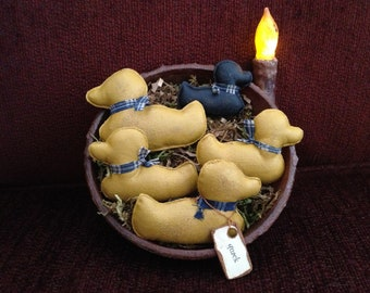 Primitive Rubber Ducky Bowl Fillers
