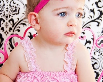 Heart  Headband Shabby Baby Headband baby bow newborn headband toddler headband