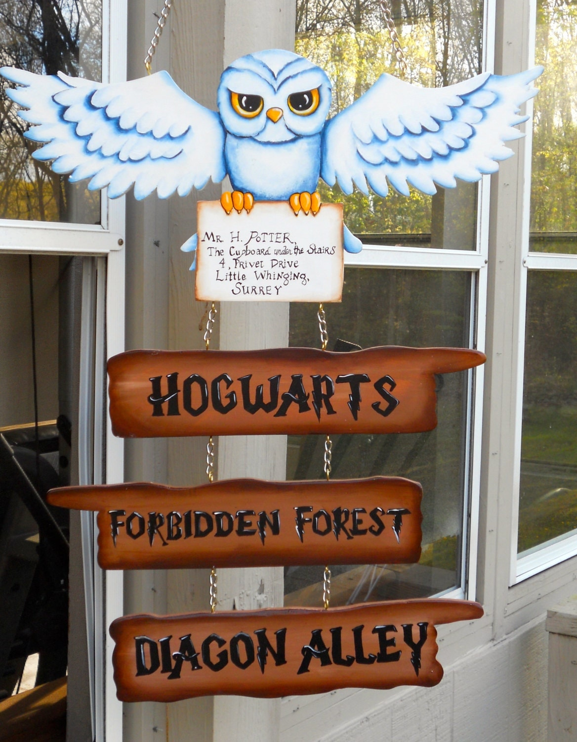This is a graphic of Critical Hogwarts Sign Printable
