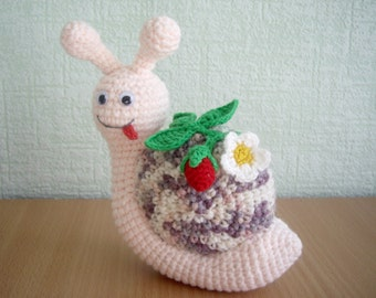 Tutorial Rose Amigurumi : PDF PATTERN amigurumi little crochet toy Messenger by ...
