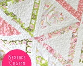 Quilt - Bespoke Custom Baby Quilt - Design Your Own Quilt