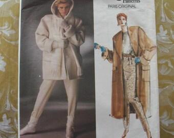 Vintage Vogue Pattern 1637 Christian Dior Coat 10