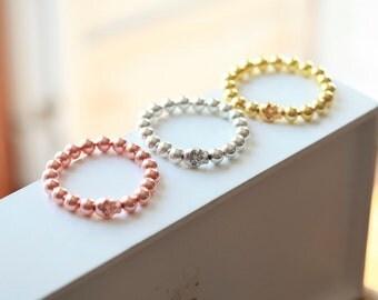 SILVER SKULL Bracelet  - Skull bracelet