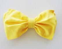 Lemon Yellow Sunshine Bikini Bow Bandeau top. Vintage Style Halter Neck Sunsuit Bikini Diva Halter neck top pin up Custom Made ALL Cotton
