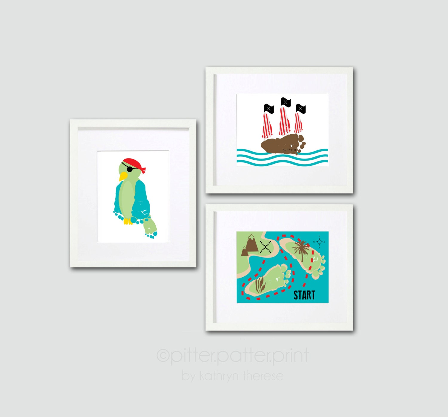 Popular items for kids pirate room on Etsy