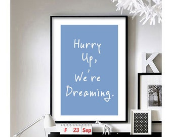 M83 (Hurry up, We're dreaming) Art Print