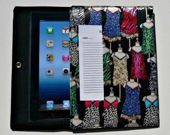 iPad, iPad2, iPad3 Case / Cover / Sleeve padded (READY TO SHIP) - Lingerie
