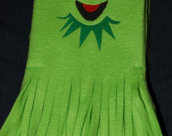 Kermit the Frog Fleece Scarf