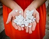 Wedding Confetti - Party Confetti, Paper Confetti, Vintage Wedding, Scrapbooking, Send-off, Wedding Dismissal