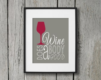 Dining room prints wall art eat drink fork knife spoon for Wine and dine wall art