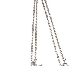 H Charm Necklace