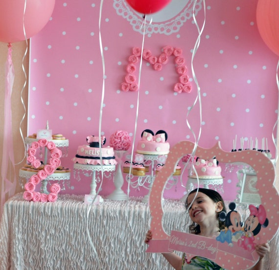 Photo Booth Props And Backdrops Minnie Mouse Photo Booth Prop