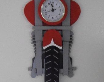 Motorcycle Clock