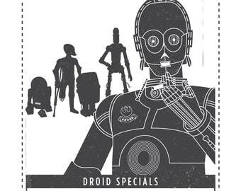Discount Droids Poster