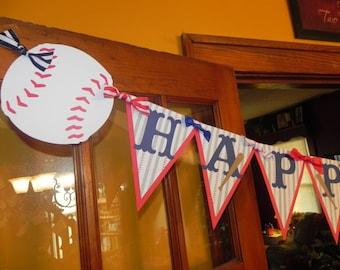 Baseball Birthday Banner - Baseball Birthday Party