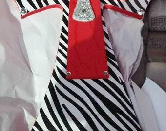 Red Zebra Cross