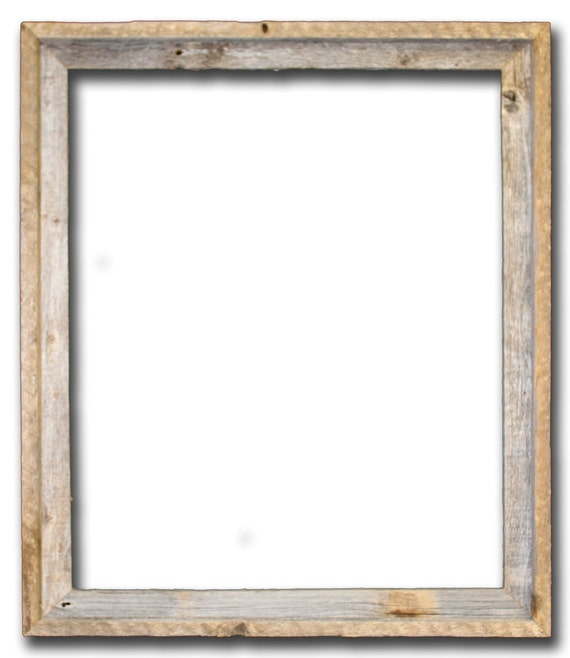 22x28 picture frames barnwood reclaimed wood open frame no