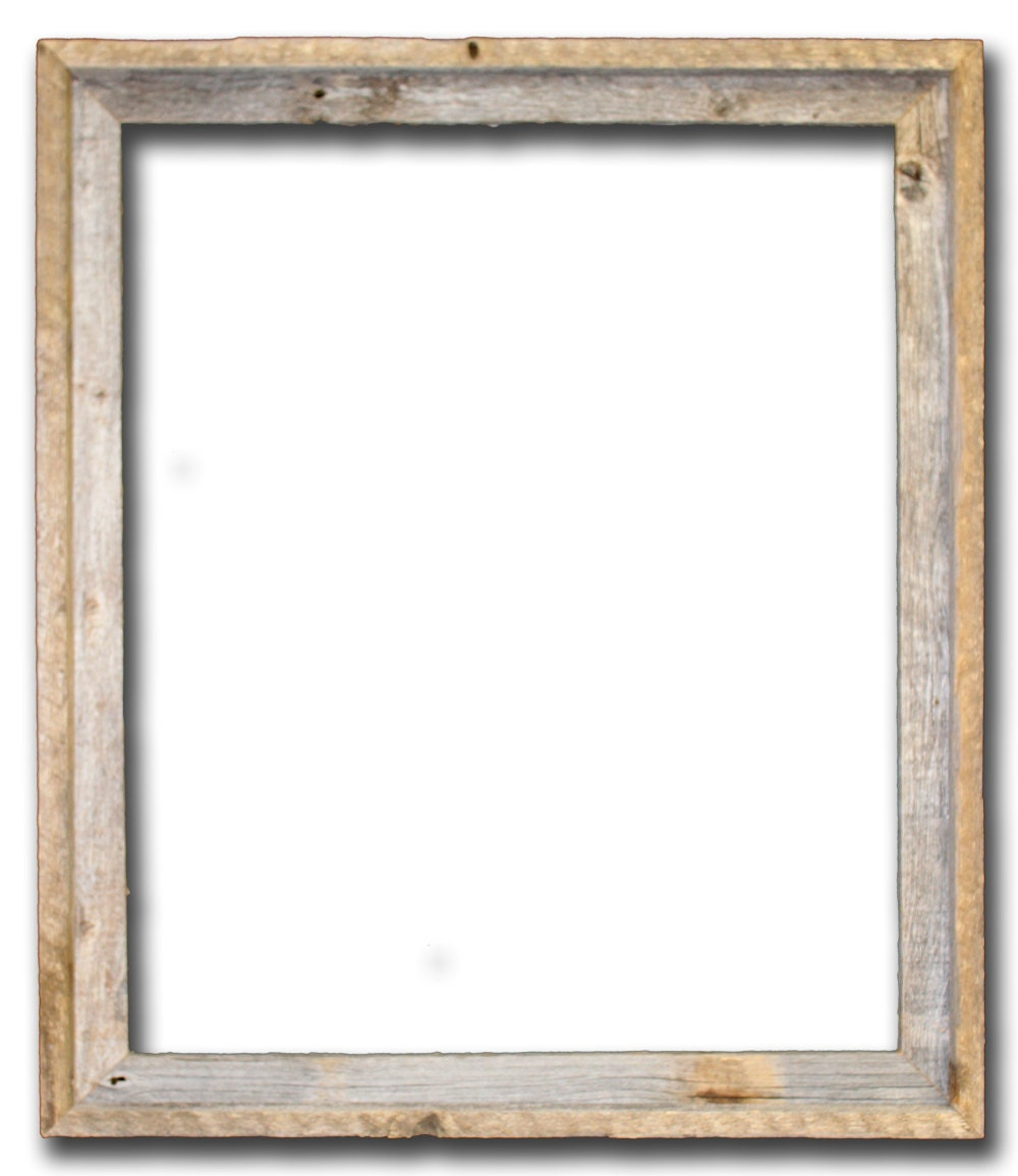 Wood Photo Frames : 22x28 Picture Frames Barnwood Reclaimed Wood by RusticDecorFrames