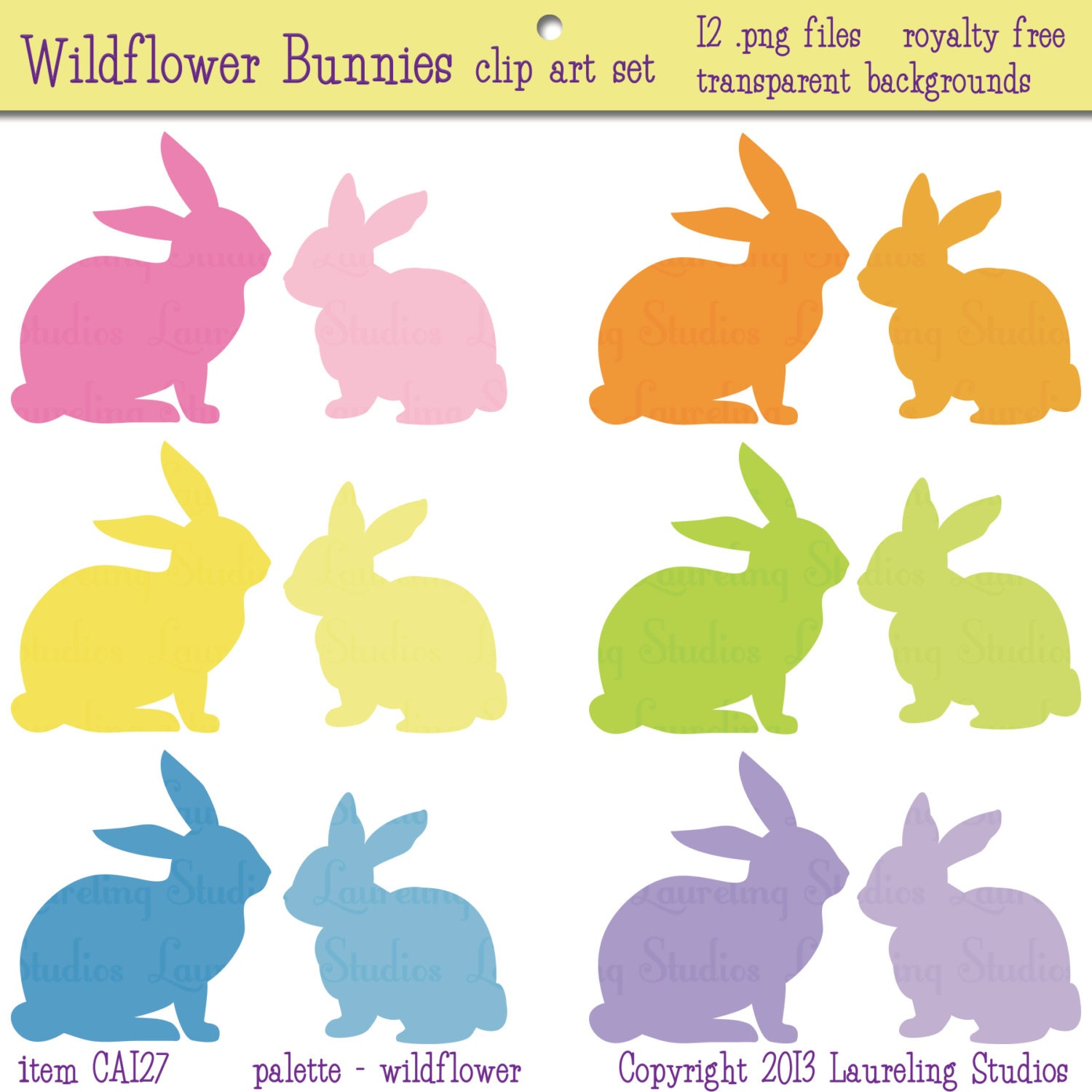 clipart image easter bunny silhouette - photo #38