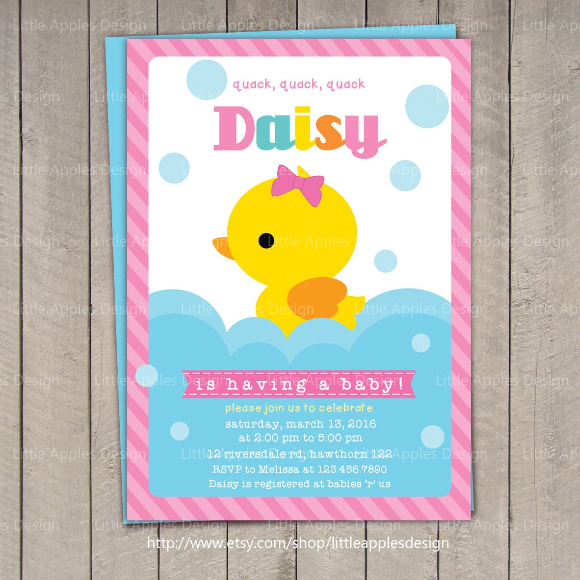 duck baby shower invitation rubber duck baby shower