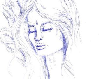Original artwork - 'Sophia lll'